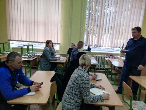 Робоча  нарада з відповідальними за організацію та проведення у ЗЗСО гри «Сокіл» («Джура»)
