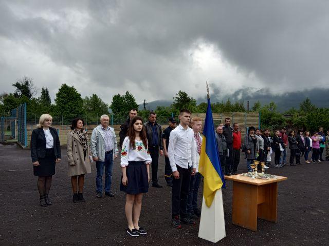 І етап Всеукраїнської дитячо-юнацької військово-патріотичної гри «Сокіл» («Джура») -2019